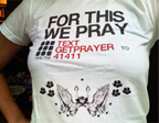 for this we pray - sms service